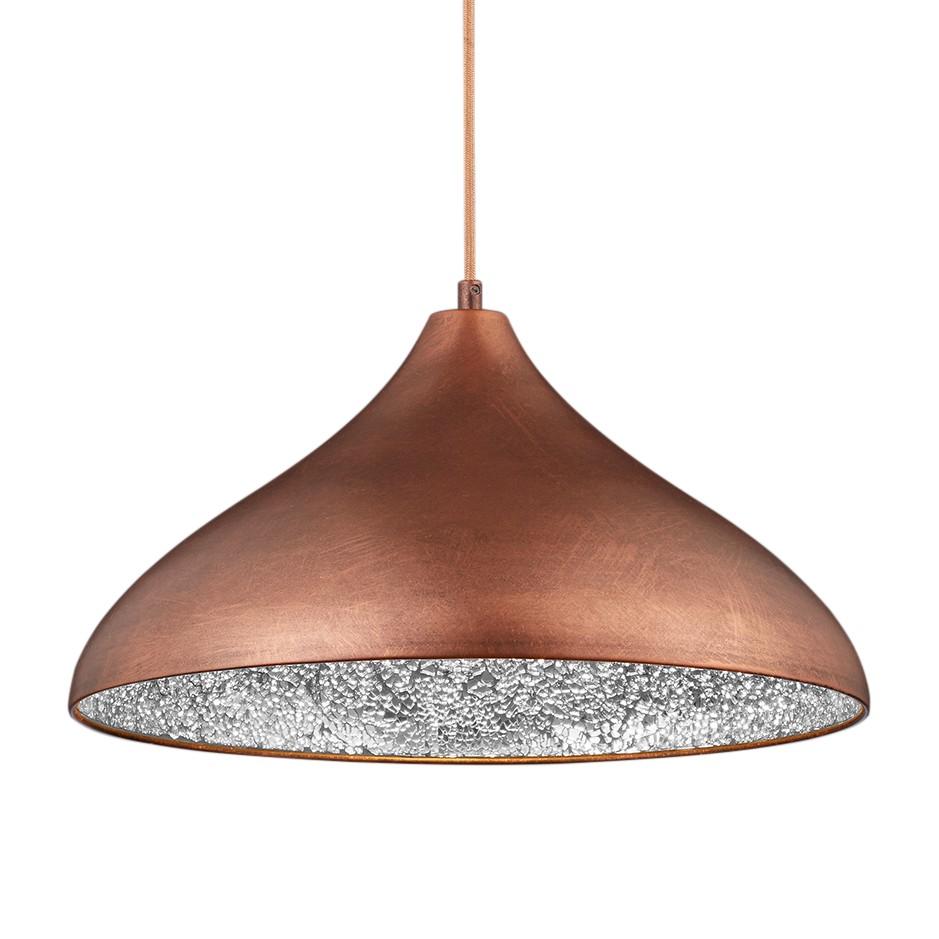 pendelleuchte ramses metall 1 flammig kupfer trio a online bestellen. Black Bedroom Furniture Sets. Home Design Ideas
