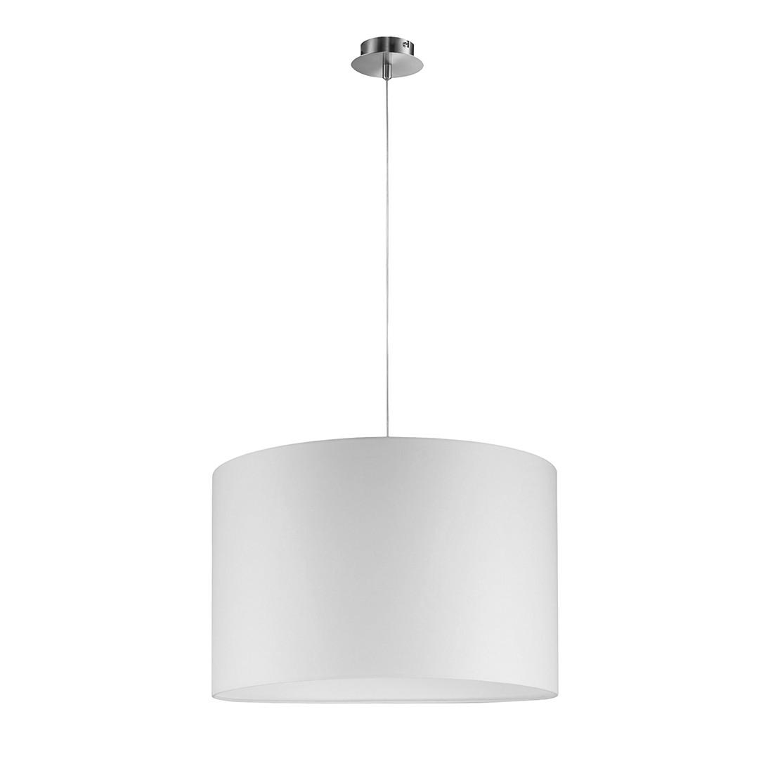 EEK A+, Pendelleuchte 1-flg. Silber 40 cm rund - SHINE-LOFT, Fischer Leuchten