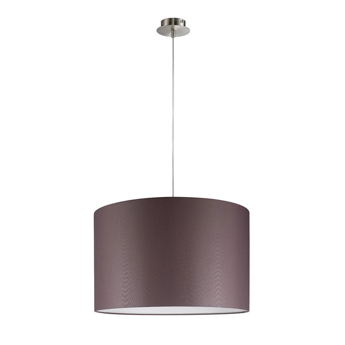 EEK A+, Pendelleuchte 1-flg. Silber 45 cm rund - SHINE-LOFT, Fischer Leuchten