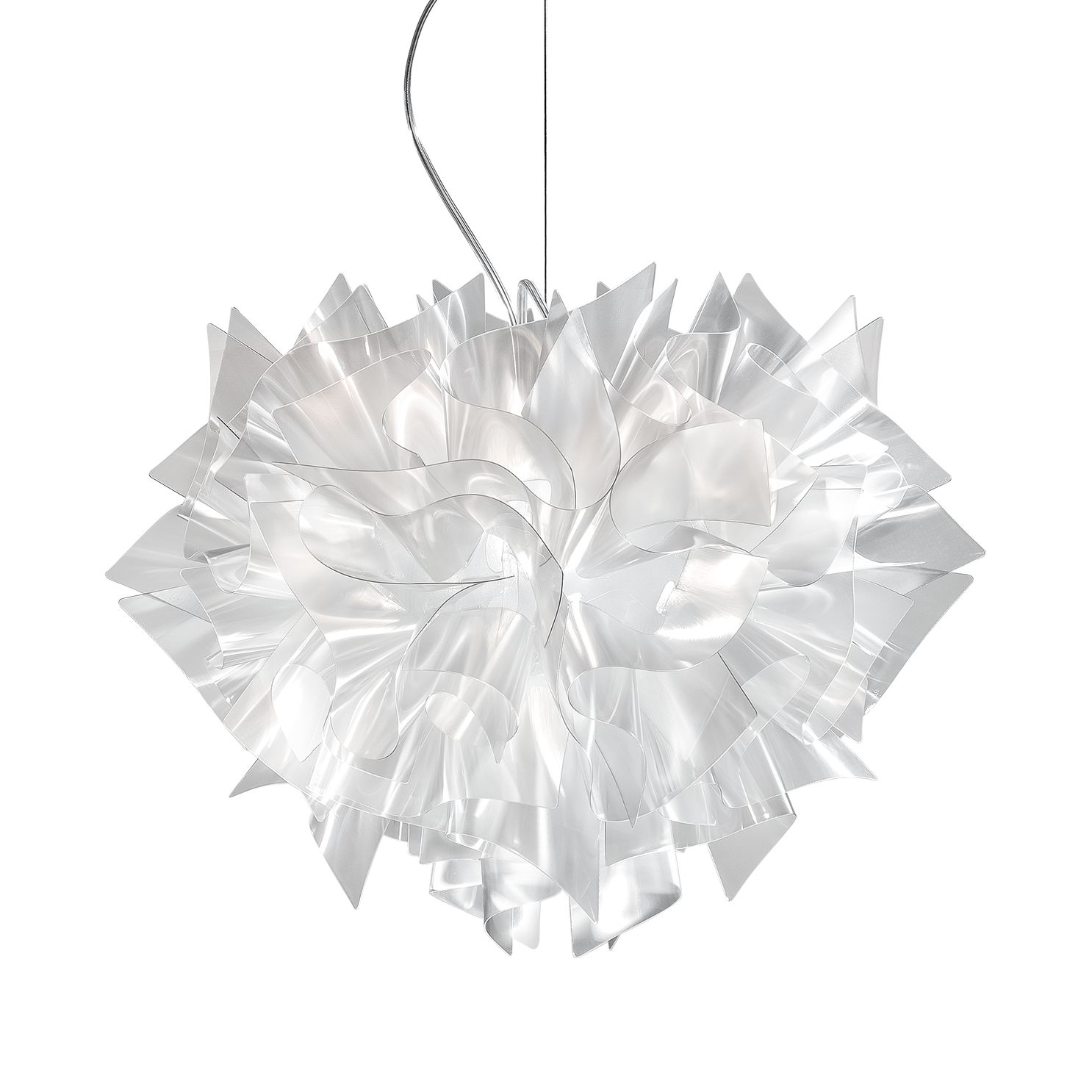 pendelleuchte veli 2 flammig transparent lentiflex slamp a jetzt kaufen. Black Bedroom Furniture Sets. Home Design Ideas