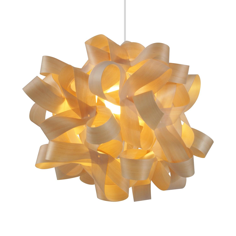 Pendelleuchte Veneer ● Kunststoff/Metall ● Beige ● 1-flammig- Näve A++