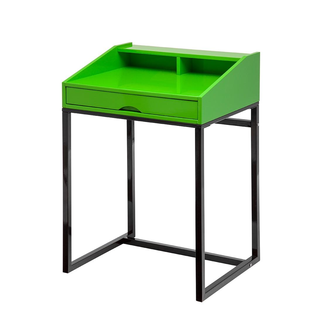 Peppy Sekretär - Hochglanz Grün lackiert
