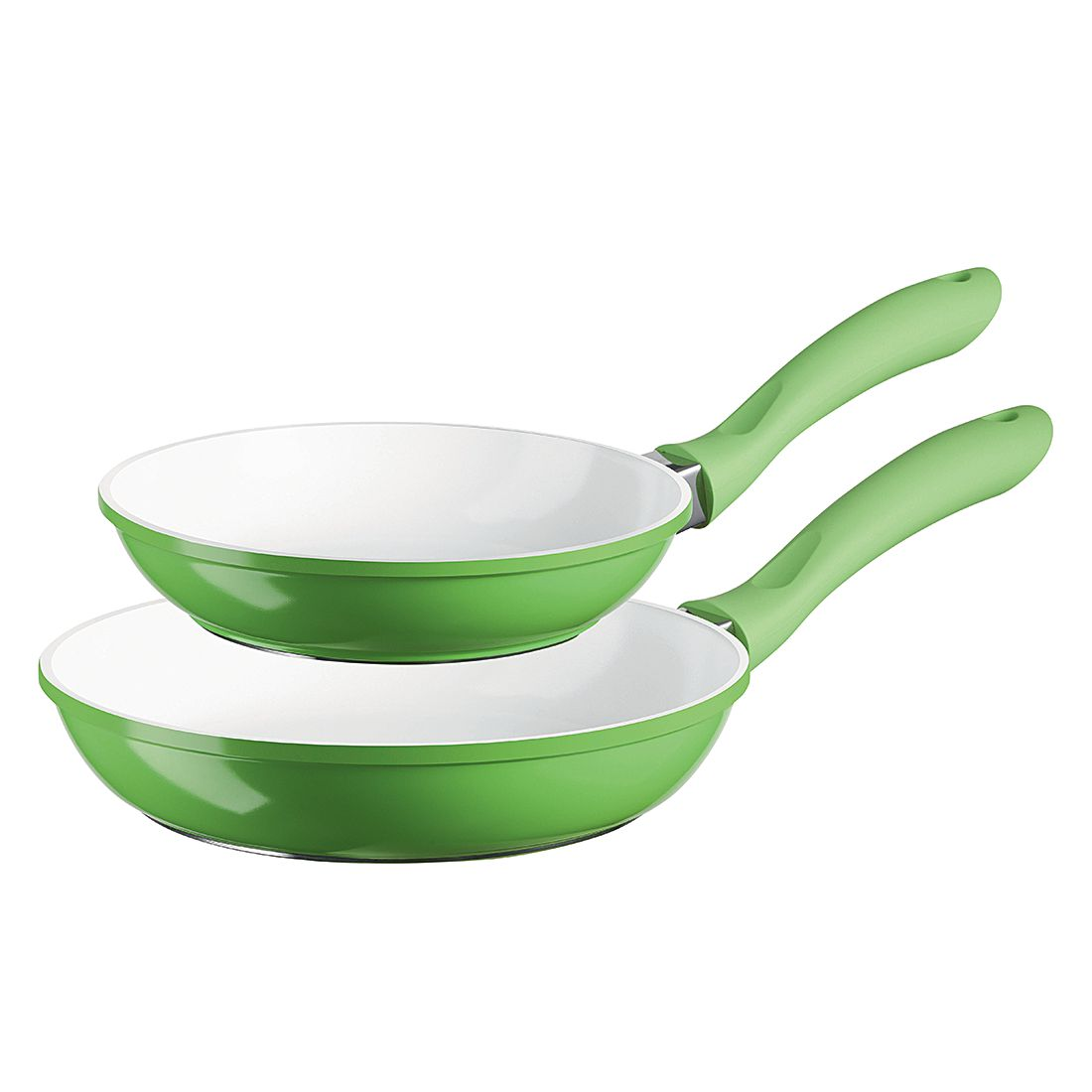 Pfannen-Set Alioth (2-teilig) – 20 & 24 cm, grün, Mäser günstig online kaufen