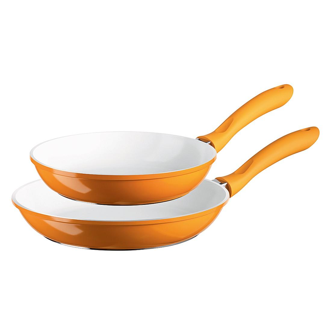 Pfannen-Set Alioth (2-teilig) – 20 & 24 cm, orange, Mäser günstig