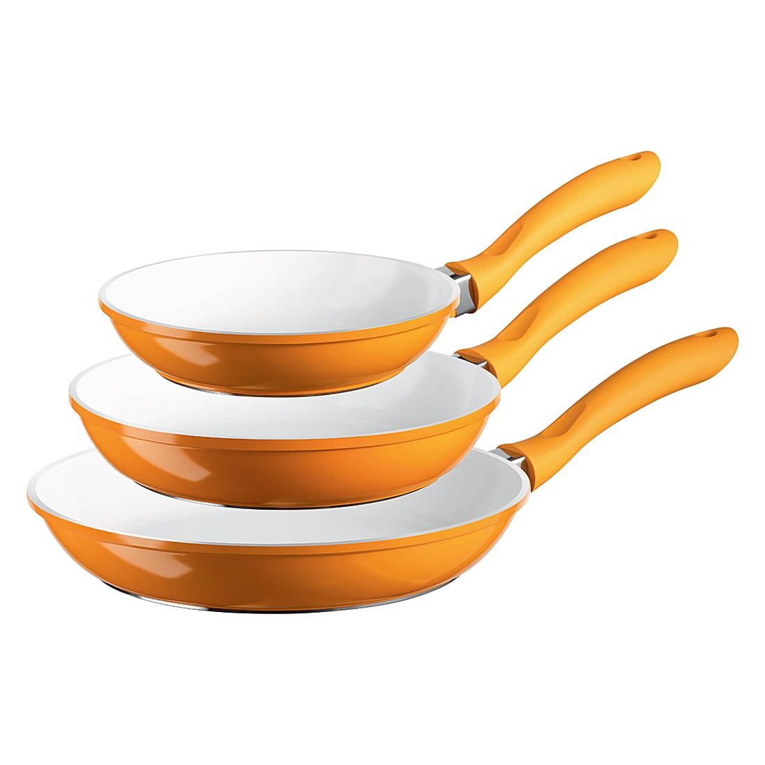 Pfannen-Set Alioth (3-teilig) – 20, 24 & 28 cm, orange, Mäser günstig online kaufen