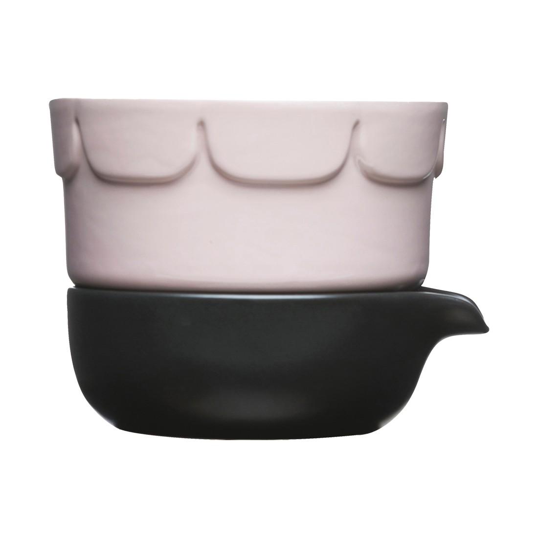 Pflanzentopf Green mit zwei Behältern – Keramik Pink, Anthrazit, Sagaform online bestellen