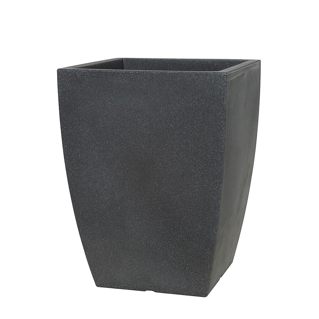 Pflanzgefäß Bologna (53cm) – schwarz granit, PP-PLASTIC günstig