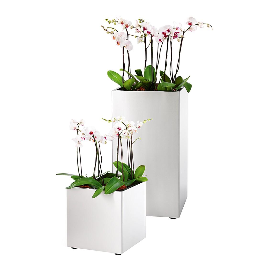Pflanzgefäß Greens (30 cm) - Edelstahl - Höhe: 75 cm, Blomus