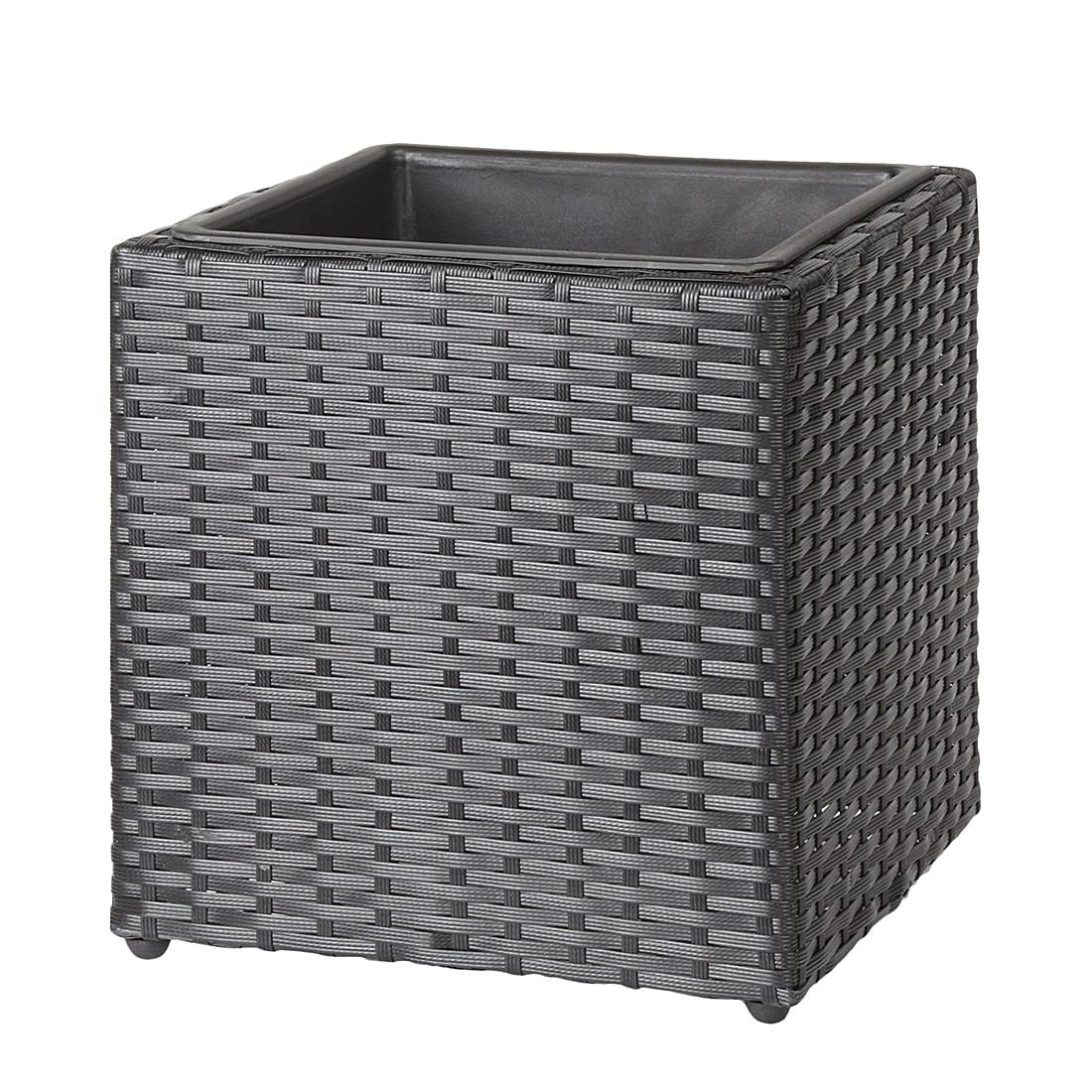 preisvergleich eu polyrattan schwarz. Black Bedroom Furniture Sets. Home Design Ideas