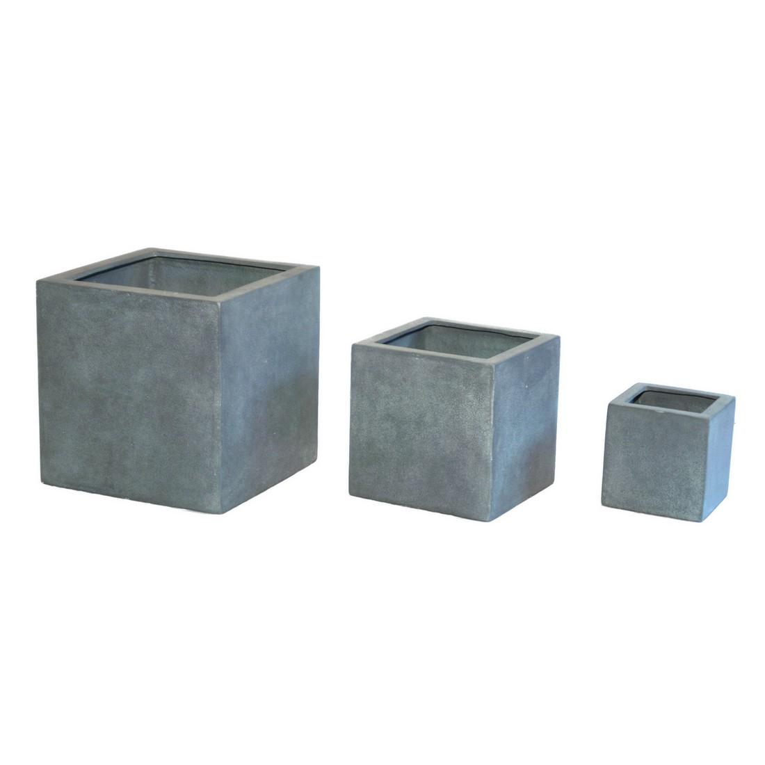 pflanzk bel isi lead kunststoff modern eckig normal. Black Bedroom Furniture Sets. Home Design Ideas