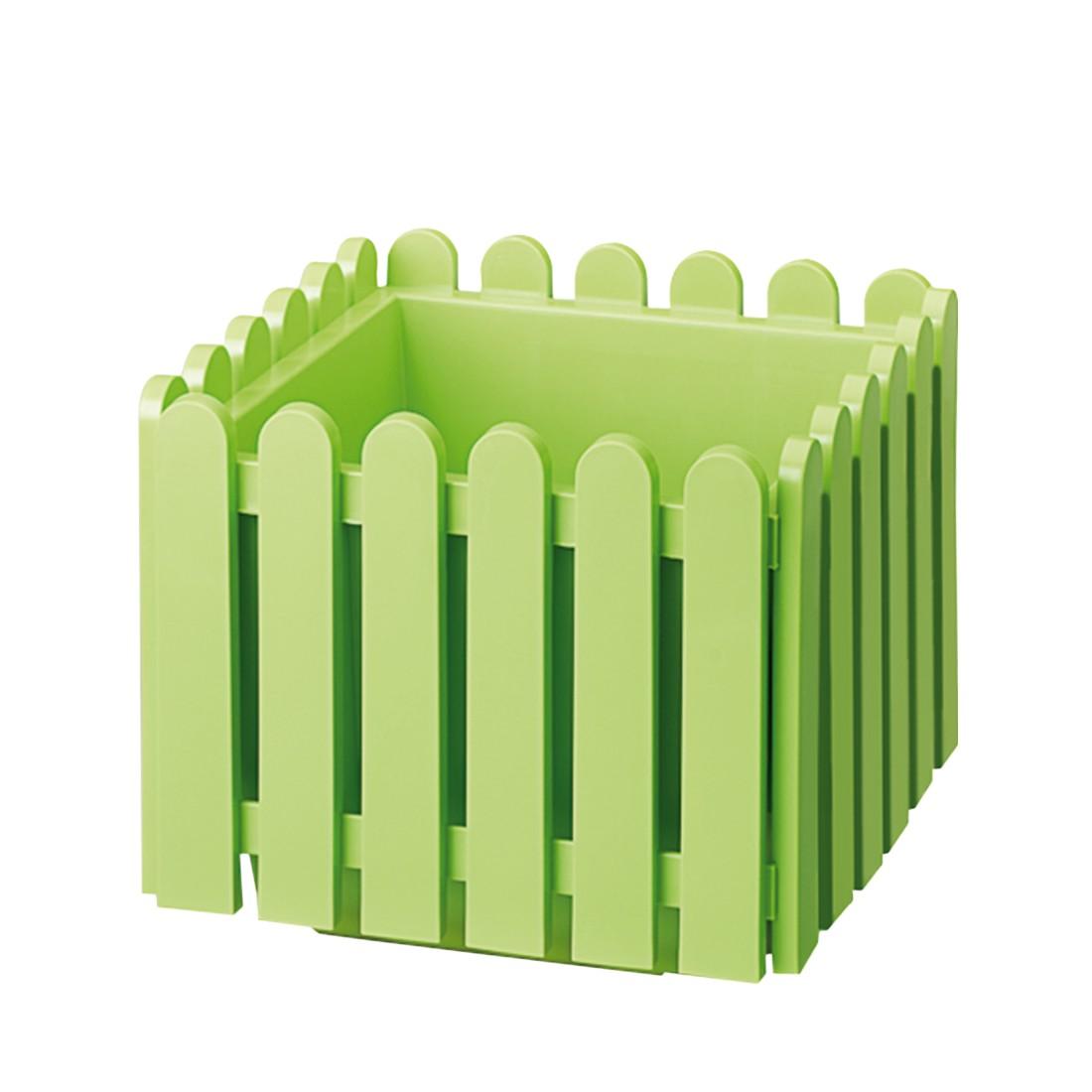 Pflanzkübel Landhaus (38x38cm) – grün, Emsa günstig