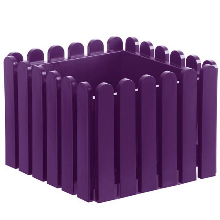 Pflanzkübel Landhaus (38x38cm) – violett, Emsa bestellen