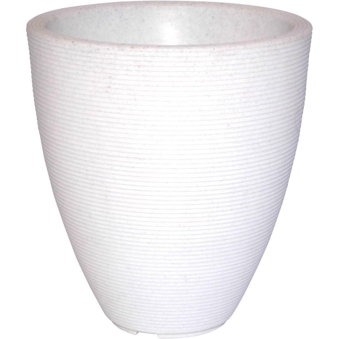 Pflanzkübel Marble - Kunststoff - Delano, Cresent Garden