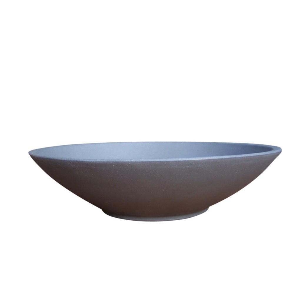 Pflanzkübel Pflanzschale Pewter – Kunststoff – Montana – Höhe: 15 cm Ø: 61 cm (einzeln), Cresent Garden kaufen