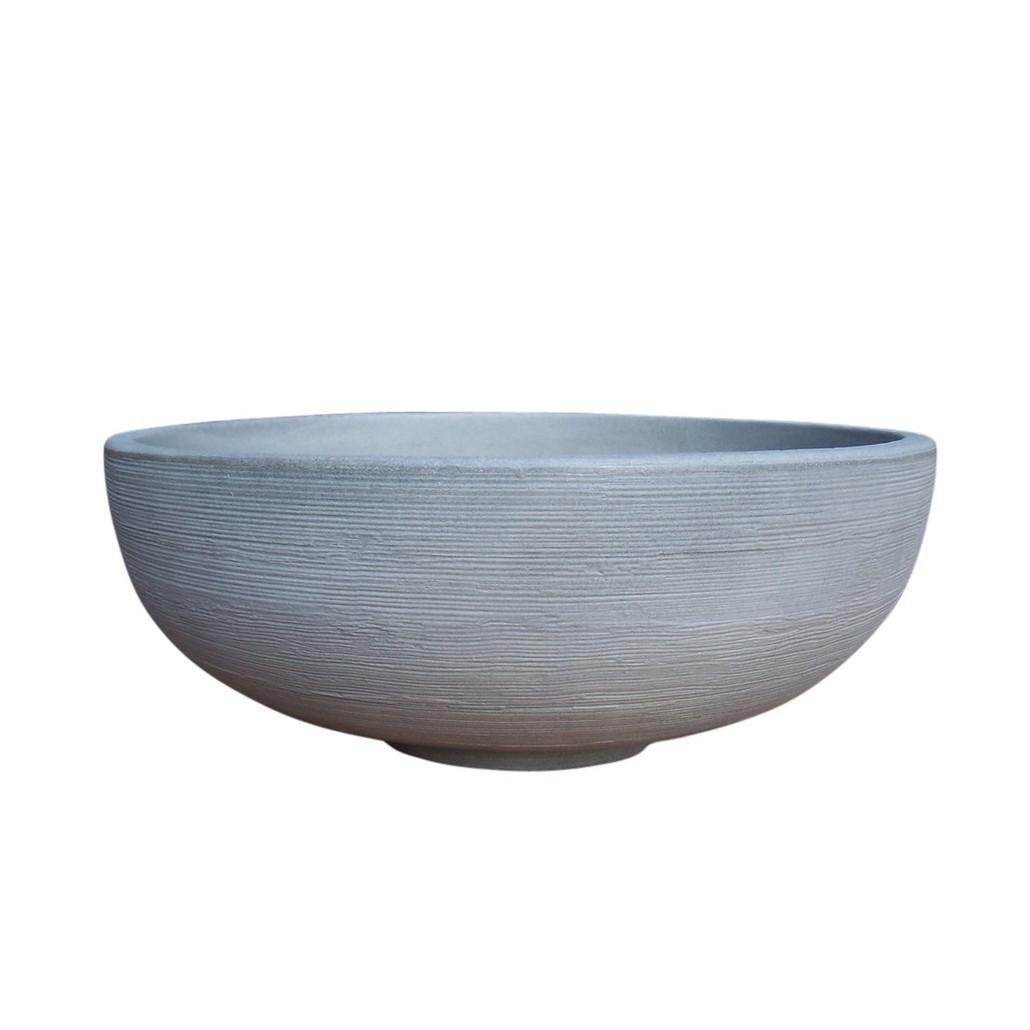 Pflanzkübel Pflanzschale Weathered Concrete – Kunststoff – Orinoco – Höhe: 31 cm Ø: 76 cm (einzeln), Cresent Garden günstig kaufen