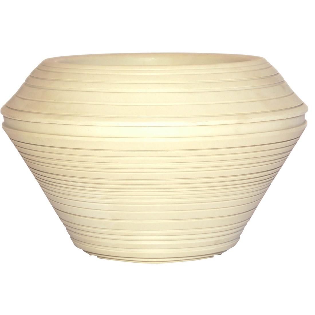 Pflanzkübel Weathered Stone – Kunststoff – Daniel Round, Cresent Garden günstig kaufen