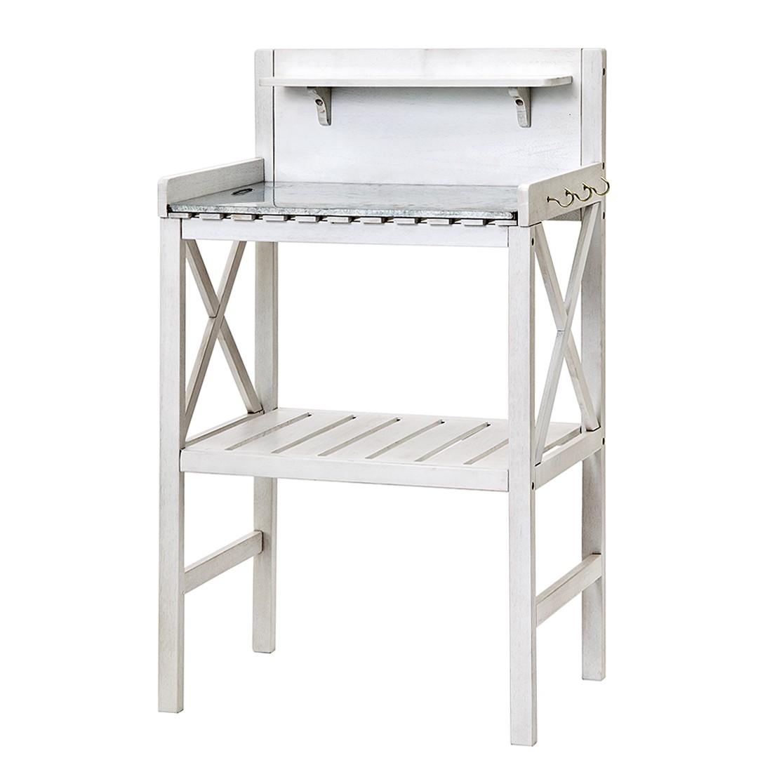 pflanztisch klappbar mit verzinkter arbeitsfl che 45 cm x. Black Bedroom Furniture Sets. Home Design Ideas