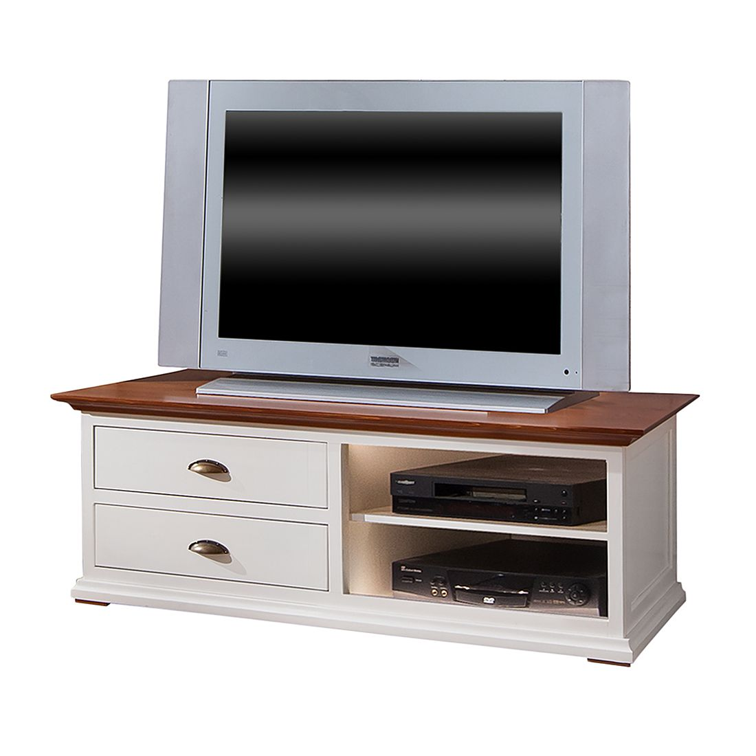 tv lowboard vivienne 2 schubladen fichte massiv. Black Bedroom Furniture Sets. Home Design Ideas