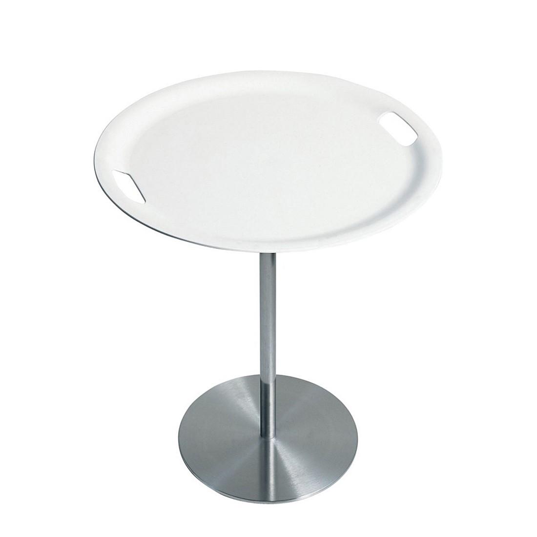 Platte Op-La Tischlein – weiß, Alessi günstig bestellen
