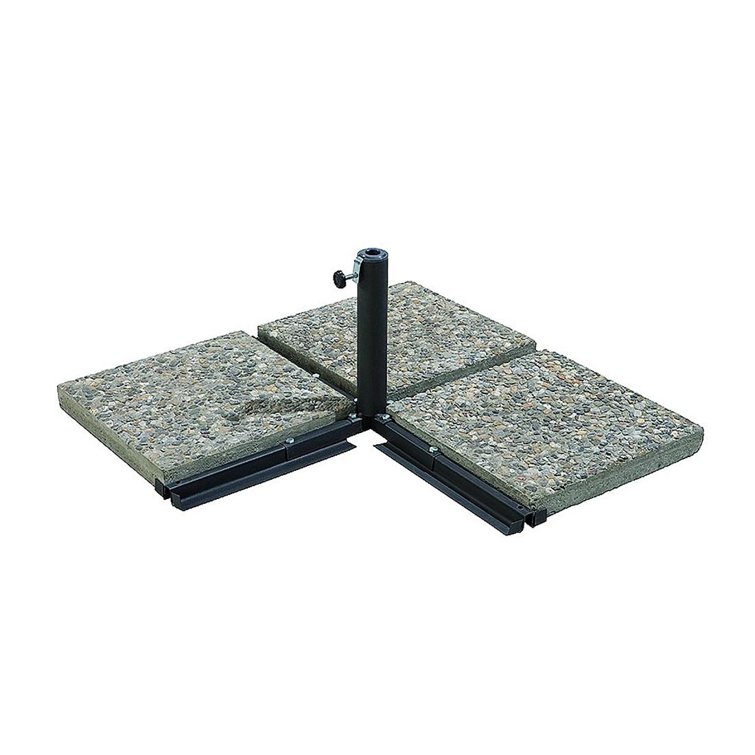 Plattenständer (Ø25-50 mm) - Stahl Schwarz, Schneider Schirme