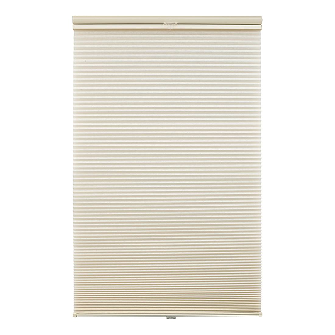 Plissee Klemmfix, Thermo – Polyester, Metall Beige – (H x B): 200 x 80 cm, Wohn-Guide günstig kaufen