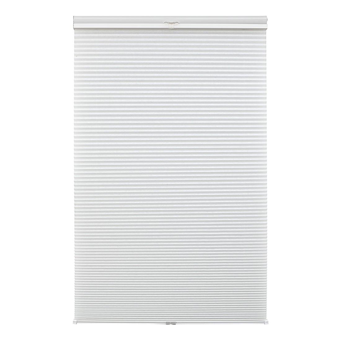 Plissee Klemmfix, Thermo – Polyester, Metall Weiß – (H x B): 130 x 60 cm, Wohn-Guide jetzt bestellen