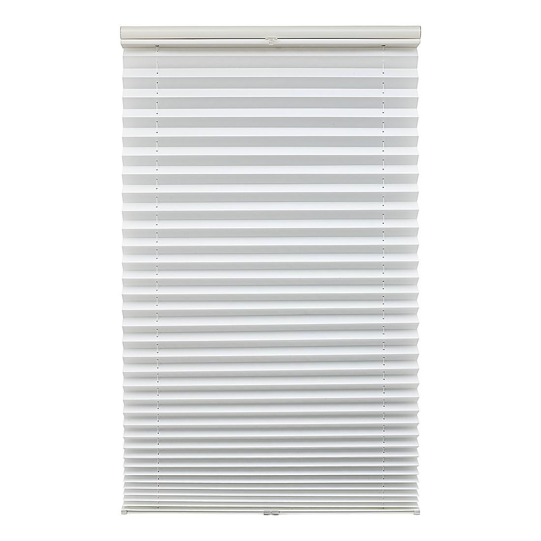 Plissee Klemmfix – Polyester, Aluminium, Weiß -Abmessungen (B x L): 90 x 220 cm, Lichtblick online bestellen
