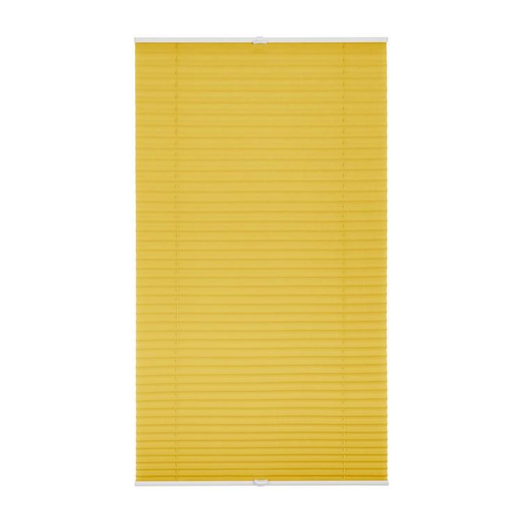 Plissee – Klemmfix verspannt – 100 % Polyester Gelb – 60 cm x 130 cm, Wohn-Guide kaufen