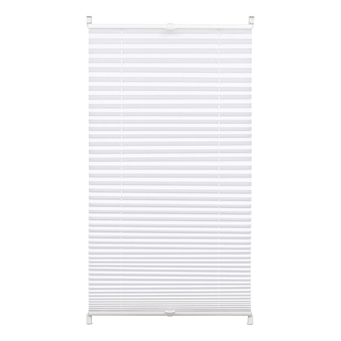 Plisseegardine Easyfix – Weiß – 100 x 130 cm, Gardinia jetzt kaufen