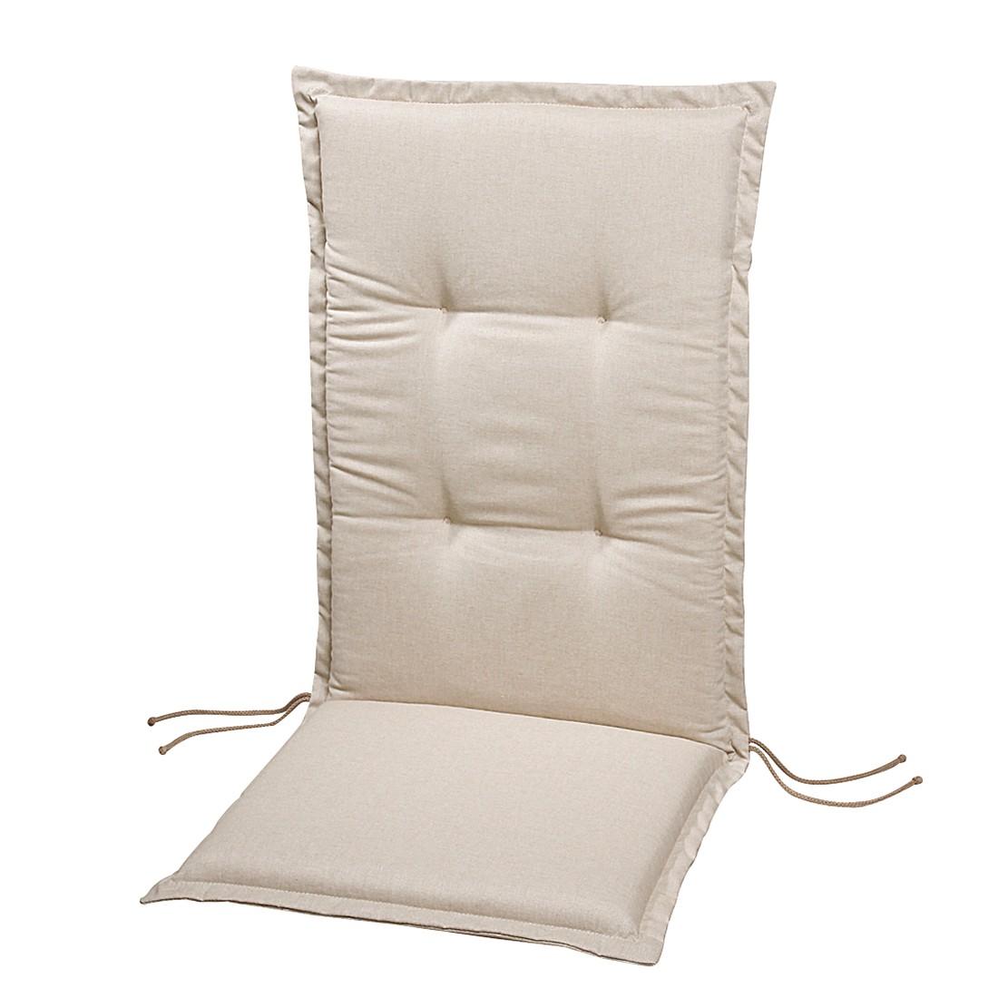 Polsterauflage Lorelai - Beige - Deck-Chair - 144 x 50 cm, Best Freizeitmöbel