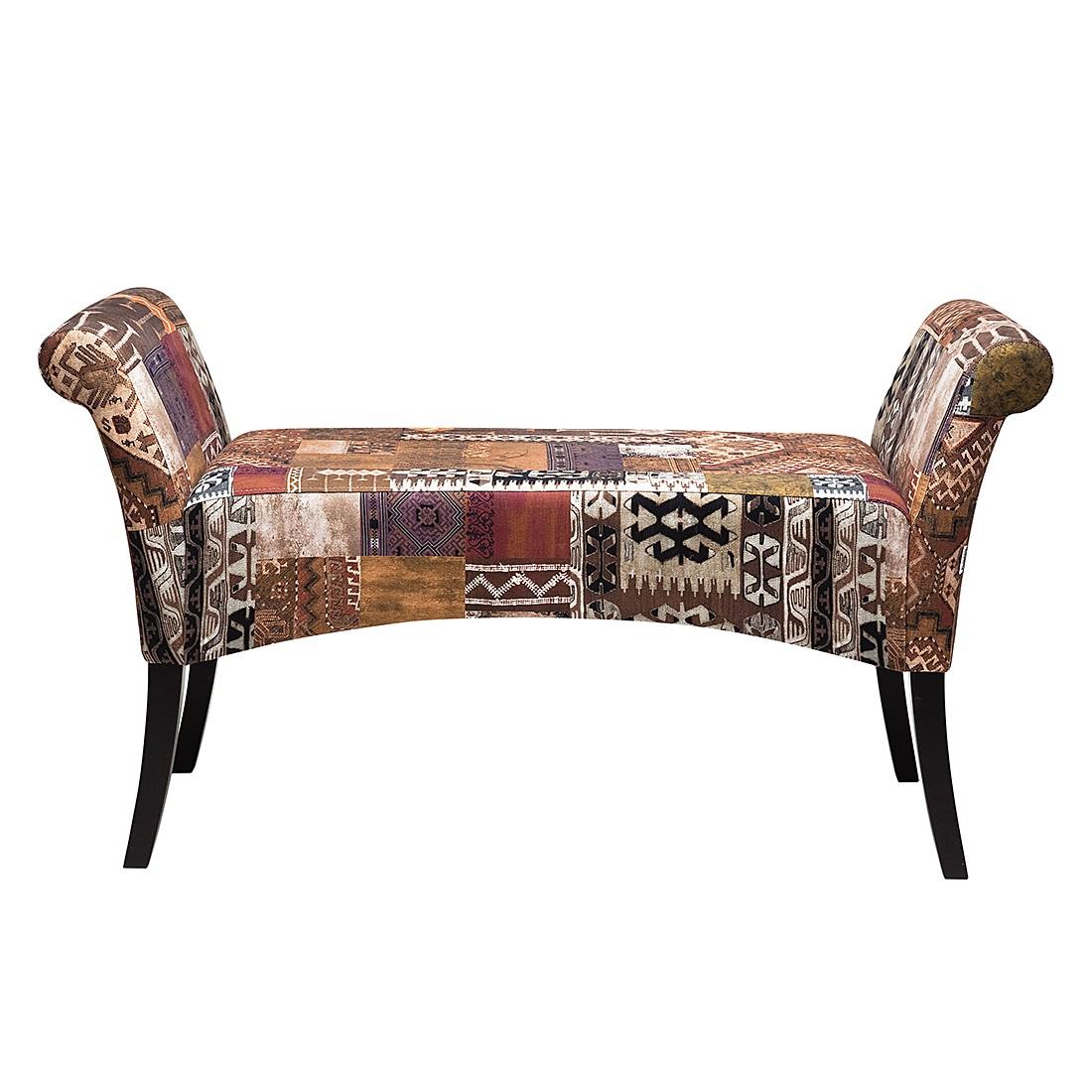 Polsterbank Motley – Buche/Textil – Bunt, Kare Design günstig online kaufen