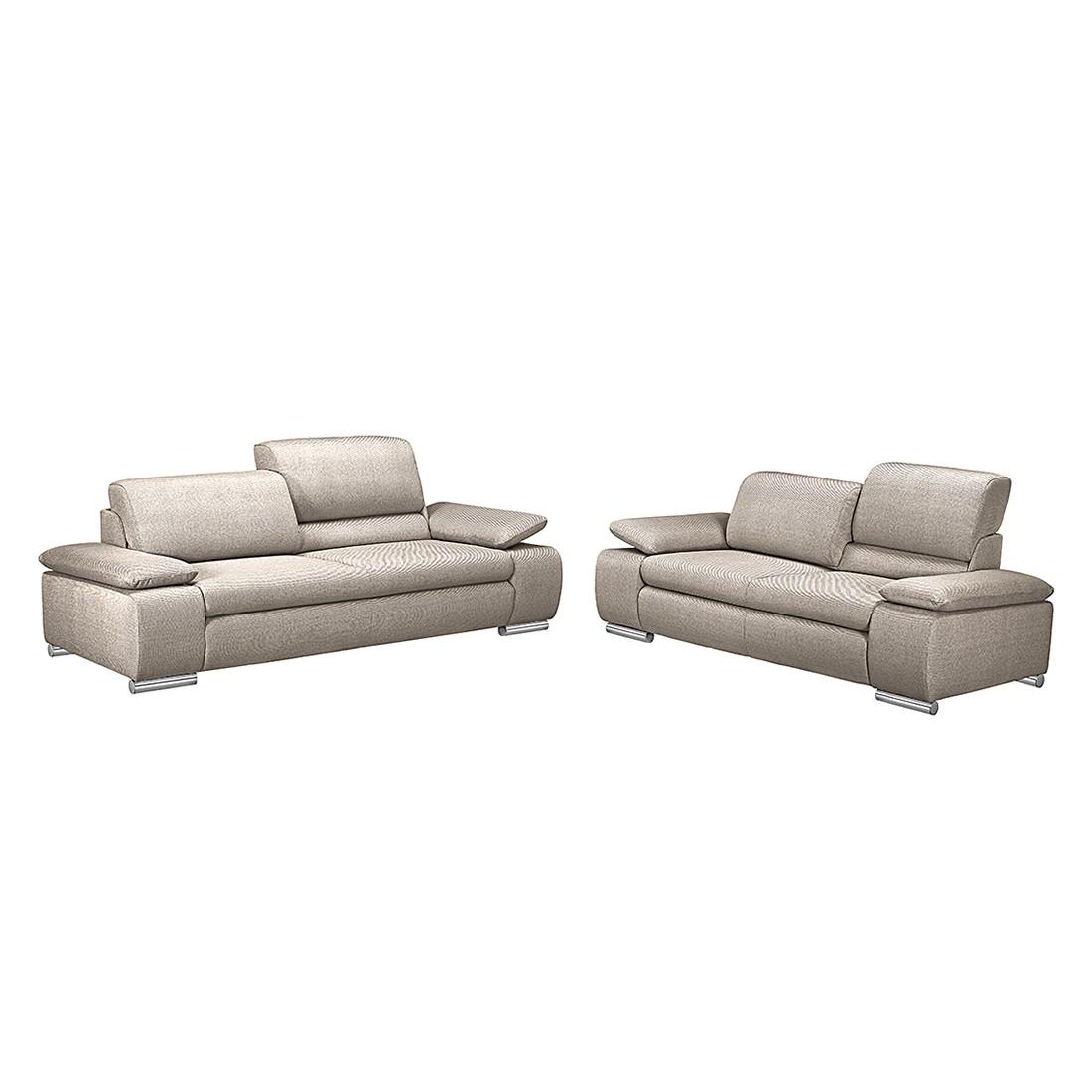 polstergarnitur masca 3 2 strukturstoff beige loftscape kaufen. Black Bedroom Furniture Sets. Home Design Ideas