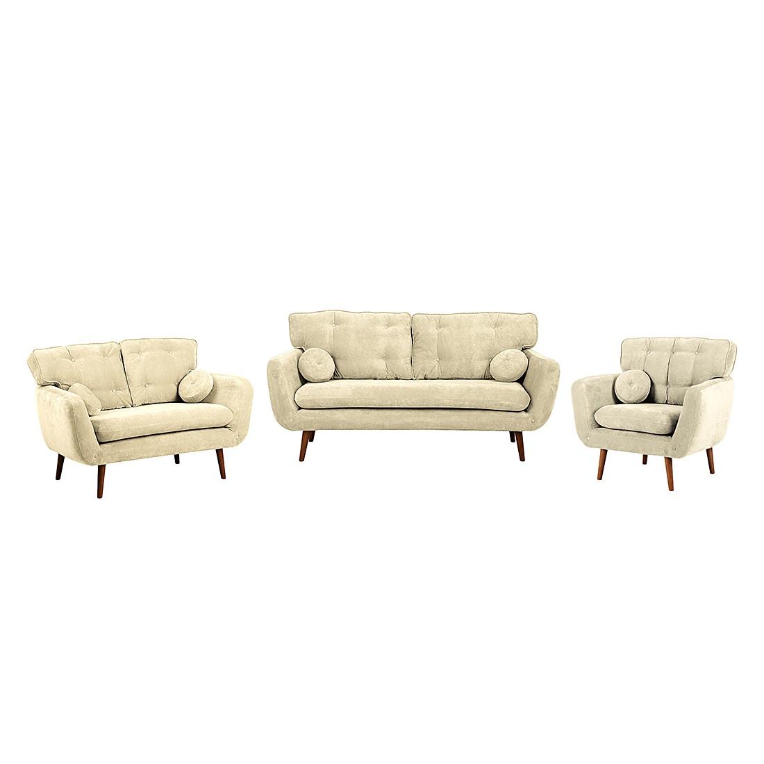 polstergarnitur lillbro 3 2 1 microfaser beige m rteens kaufen. Black Bedroom Furniture Sets. Home Design Ideas