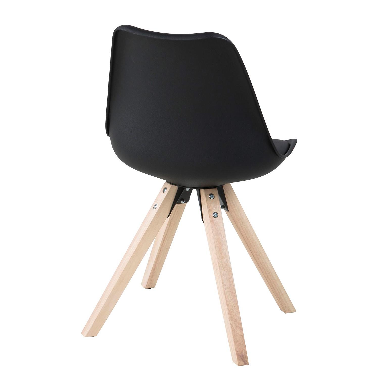 polsterstuhl aledas 2x schwarz esszimmerstuhl hochlehner. Black Bedroom Furniture Sets. Home Design Ideas