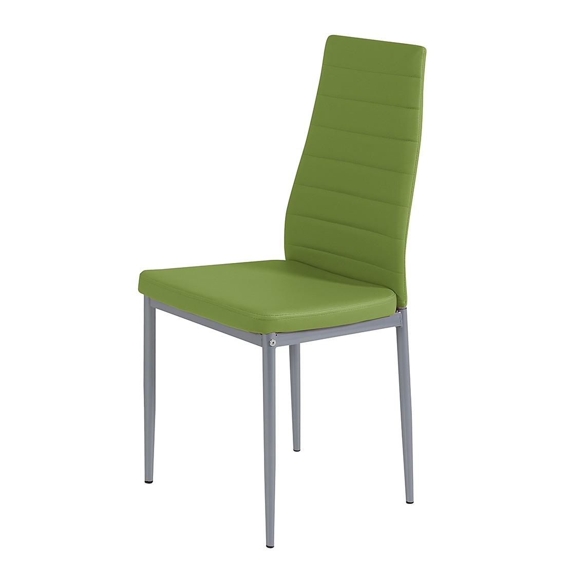 Polsterstuhl Alice Springs (4er-Set) – Kunstleder Apfelgrün, Home Design günstig