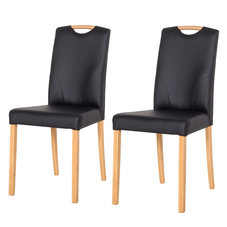 holzstuhl schwarz preis vergleich 2016. Black Bedroom Furniture Sets. Home Design Ideas