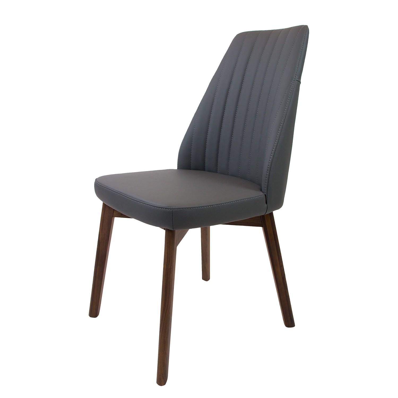 polsterstuhl grau g nstig kaufen. Black Bedroom Furniture Sets. Home Design Ideas