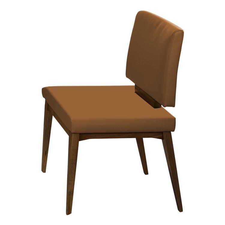 polsterstuhl penaflor i hellbraun loftscape online. Black Bedroom Furniture Sets. Home Design Ideas
