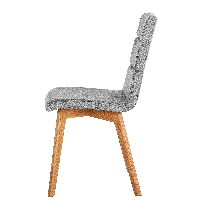 2x m rteens polsterstuhl vallrun grau esszimmerstuhl stuhl for Polsterstuhl grau