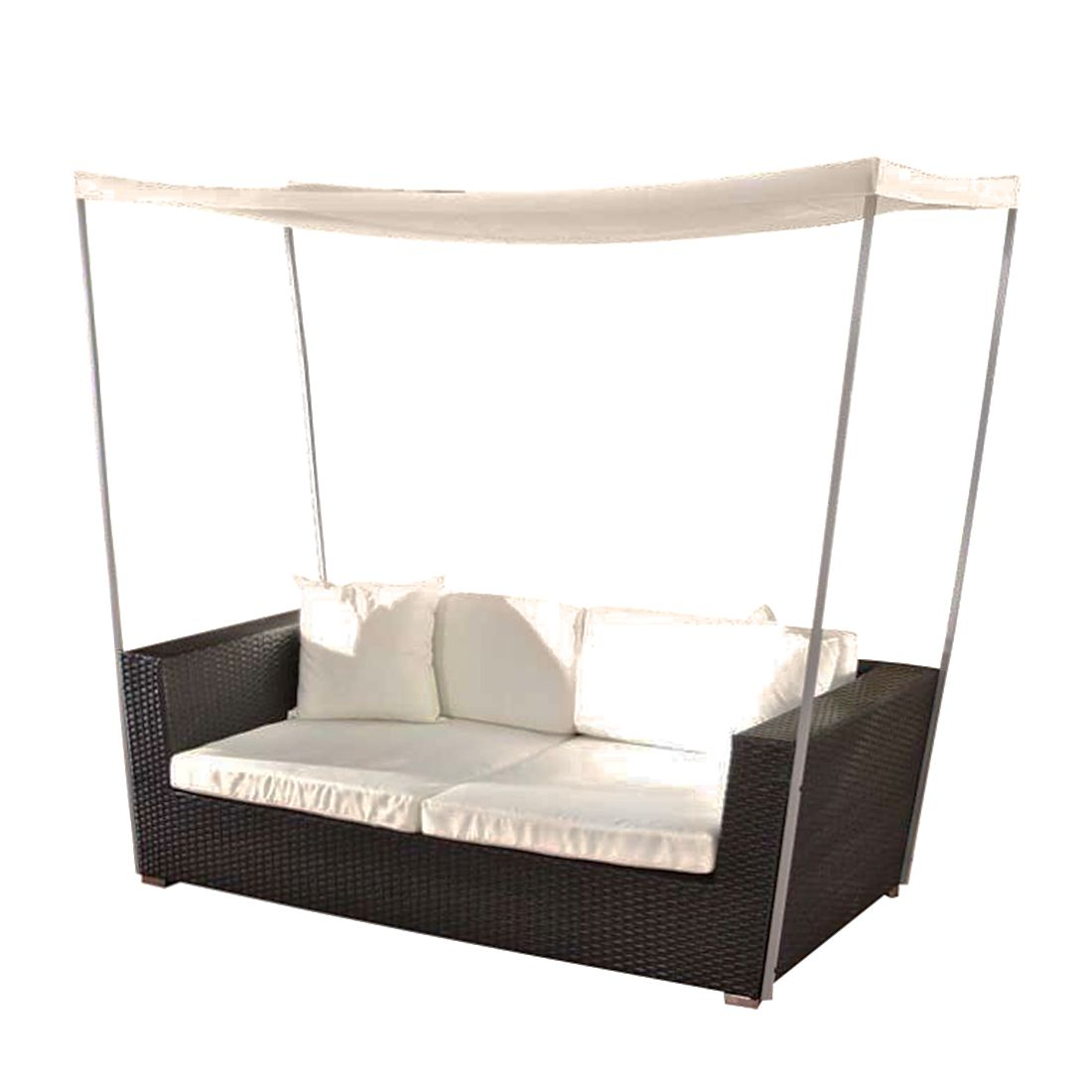 polyrattan gartengarnitur marsala schwarz aluminium polyrattan. Black Bedroom Furniture Sets. Home Design Ideas