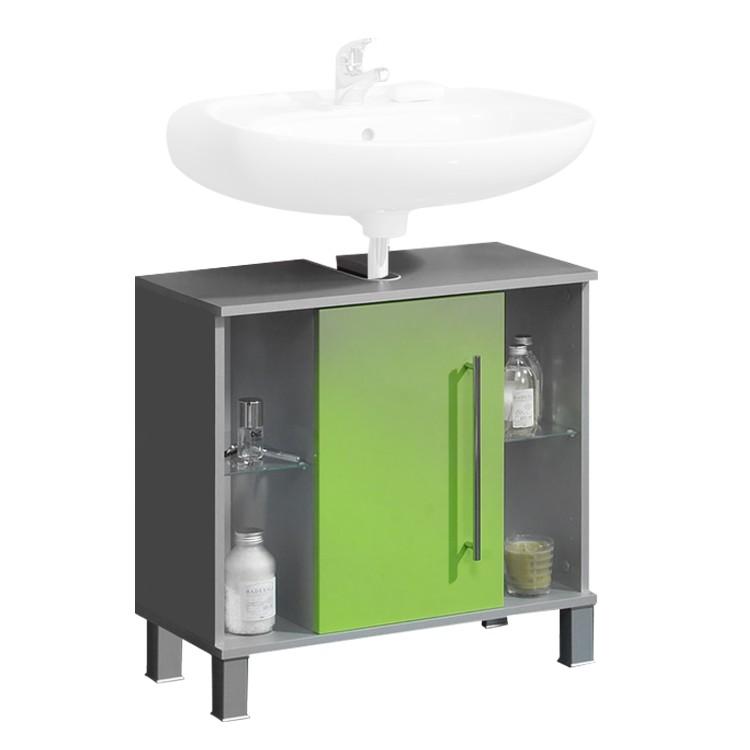 Waschbeckenunterschrank Ponza- Grün