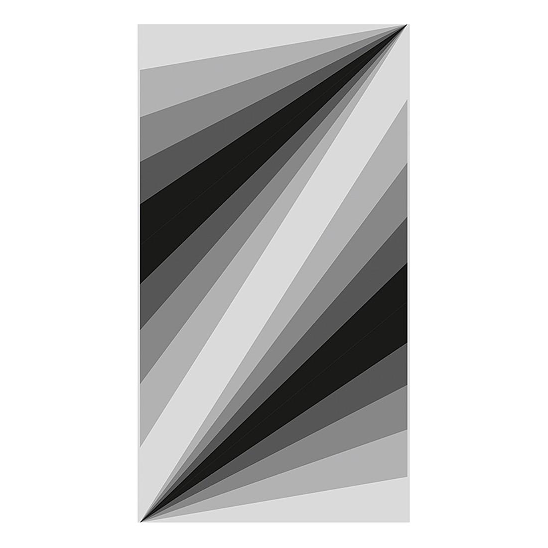 pop.up Panel Artwork – grau – schwarz – selbstklebend – glatt, Livingwalls jetzt kaufen