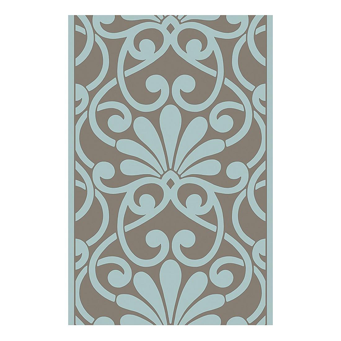 pop.up Panel Funny Ornament – türkis – braun – selbstklebend – glatt, Livingwalls jetzt bestellen