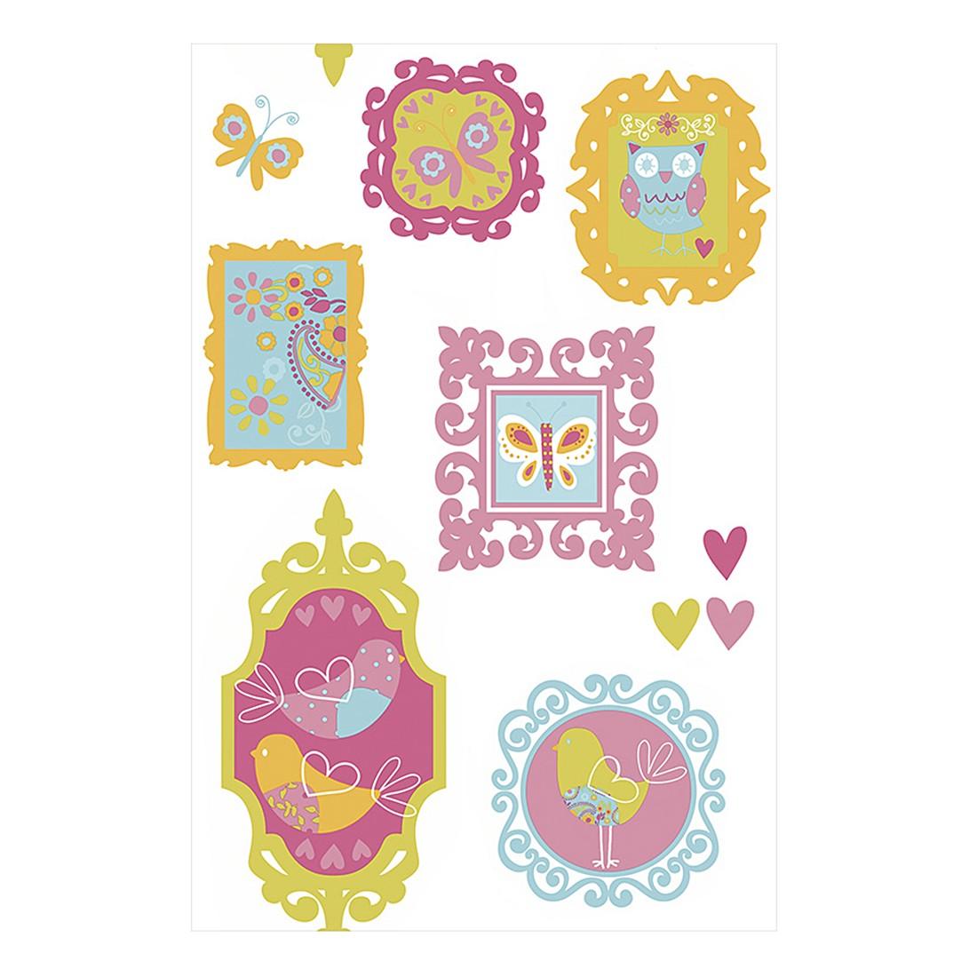 pop.up Panel Little Princess – bunt – selbstklebend – glatt, Livingwalls bestellen