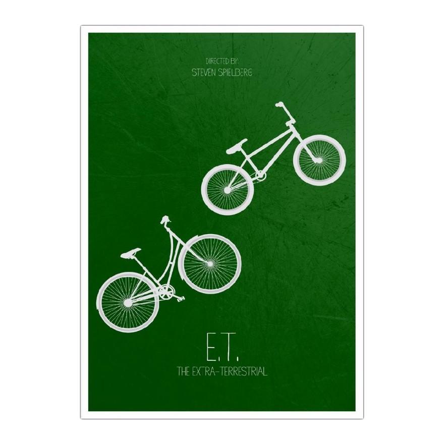 Poster E.T. von Calm The Ham – Größe: A5 (21 x 15 cm), Juniqe online bestellen