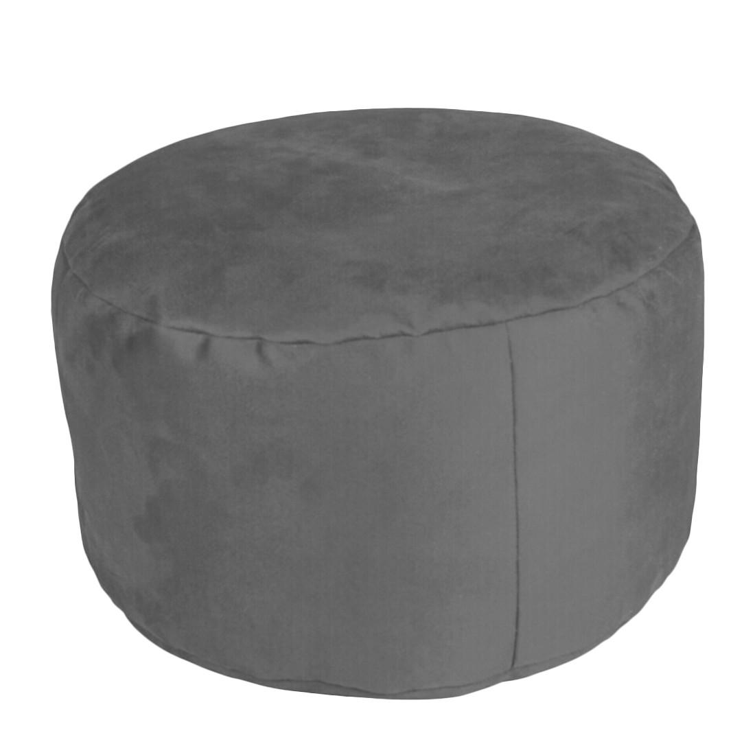 Pouf Alka Anthrazit klein – 47 x 47 cm, KC-Handel günstig bestellen