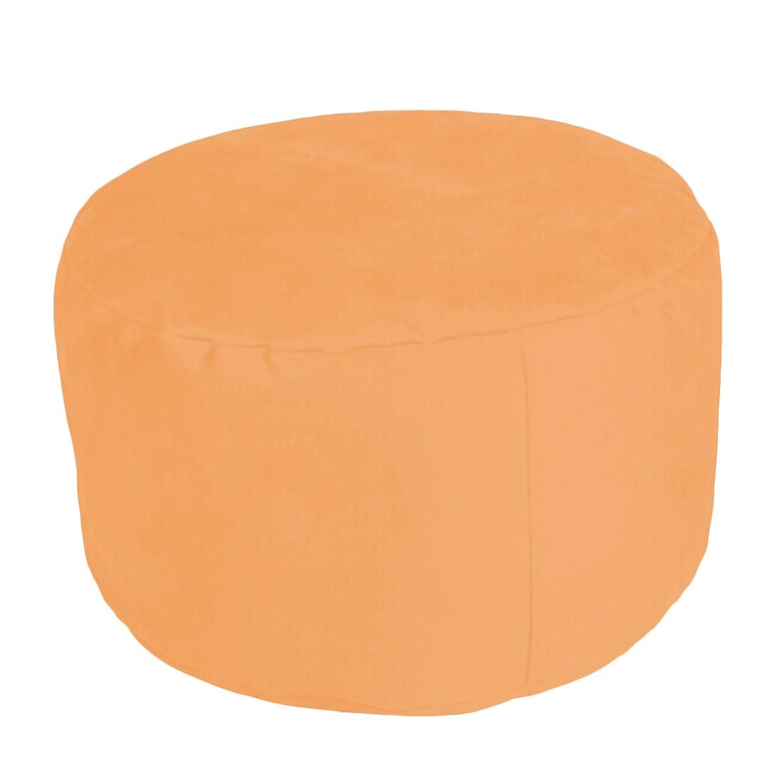 Pouf Alka Light orange klein – 40 x 40 cm, KC-Handel online kaufen