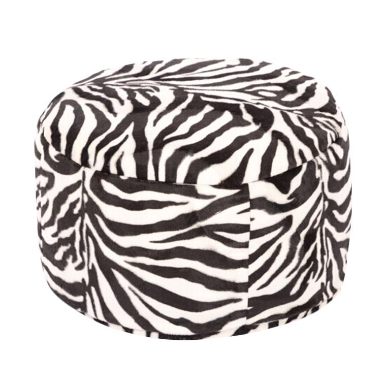 Pouf Animal Zebra klein – 40 x 40 cm, KC-Handel bestellen