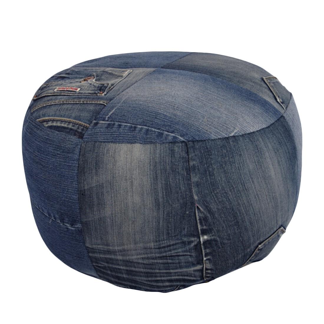 Pouf Jeans klein – 40 x 40 cm, KC-Handel günstig