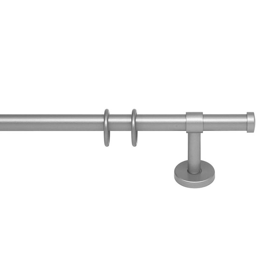 Gardinenstange Paolo (1-lfg) IX – Silber – 240 cm, indeko online kaufen